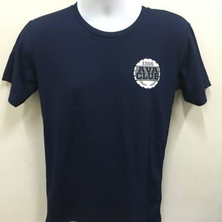 NAVY CROSSRUNNER DRI FIT T-SHIRT FOR EAST SPRING PROJECT - FRONT PRINTING