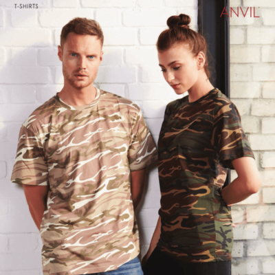 Anvil Camouflage Tee Catalogue NEW MODEL 1