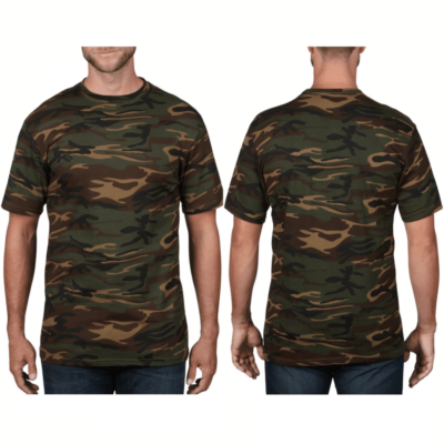 Anvil Camouflage Tee Catalogue NEW MODEL 2