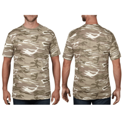 Anvil Camouflage Tee Catalogue NEW MODEL 3