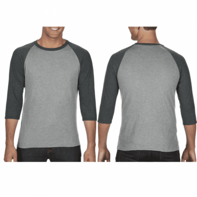 Anvil Tri-Blend 34 Raglan-Sleeves T-Shirts catalogue newNEW MODEL 2