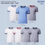 Gildan Ringer T-Shirts 2017 catalogue NEWNEW