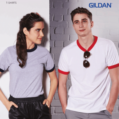 Gildan Ringer T-Shirts 2017 catalogue NEWNEW MODELS 1