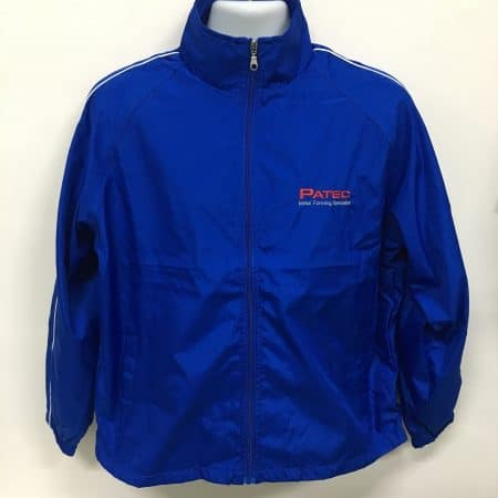 Patec Pte Ltd - WB06 Royal windbreaker (front view)