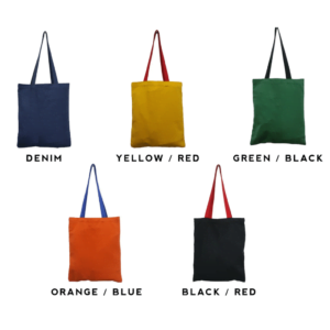 2-Tone Colored Canvas tote bag catalogue