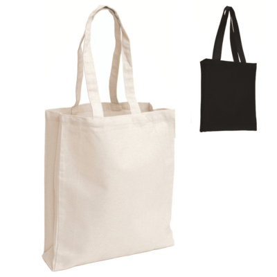 8oz Shopper canvas bag thumbnail 400x400 - 8oz Shopper Canvas Tote Bag