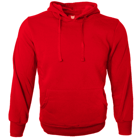 Basic Pullover Hoodies 2018 Red thumbnail
