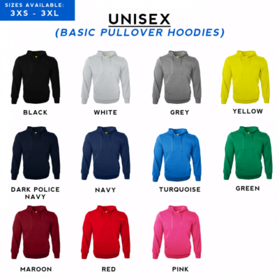 Basic Pullover Hoodies 2018 catalogue