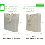 CB0102 Canvas Shopper Tote Bag catalogue