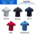 Cooltech Dri-Fit Polo T-Shirt catalogue 2018
