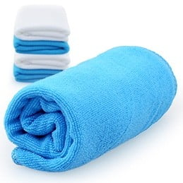 Cosie Microfibre Sports Towel BLUE OVERVIEW