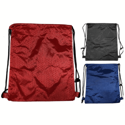 Hexagon polyester drawstring bag thumbnail 400x400 - Hexagon Polyester Drawstring Bag