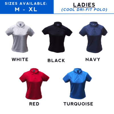 LADIES Cooltech Dri-Fit Polo T-Shirt catalogue 2018