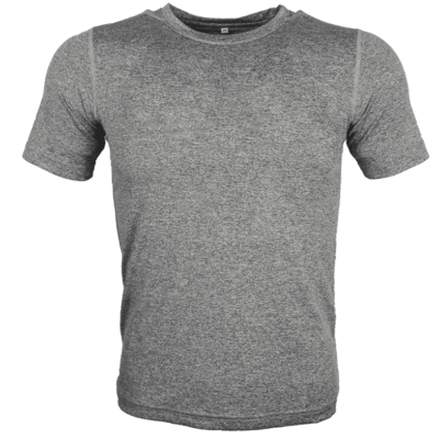 LIGHT GREY Melange mesh dri-fit t-shirt