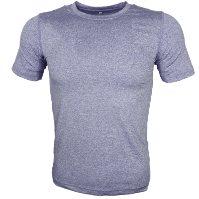 ROYAL BLUE Melange mesh dri-fit t-shirt