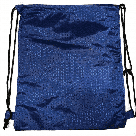 Royal hexagon polyester drawstring bag thumbnail
