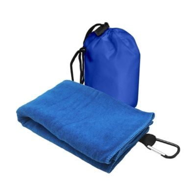 T2 Microfibre Sport Towel in Nylon Pouch BLUE