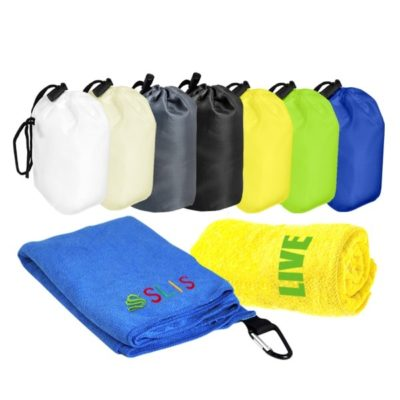 T2 Microfibre Sport Towel in Nylon Pouch catalogue 400x400 - T2 Microfibre Sports Towel in Nylon Pouch