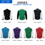 Varsity Jackets 2018 CATALOGUE