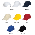 CP01 6-panel Baseball Cap 2018-19 catalogue