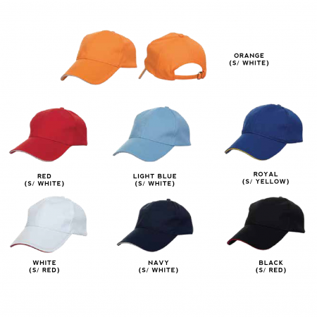 CP09 Quick Dry 6-panel Baseball Cap 2018-19