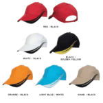 CP12 6-panel Baseball Cap 2018-19 catalogue