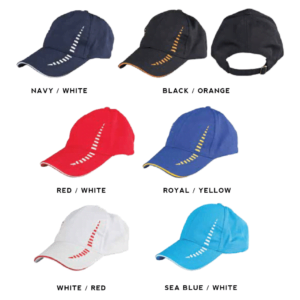 CP18 6-panel Baseball Cap 2018-19 catalogue