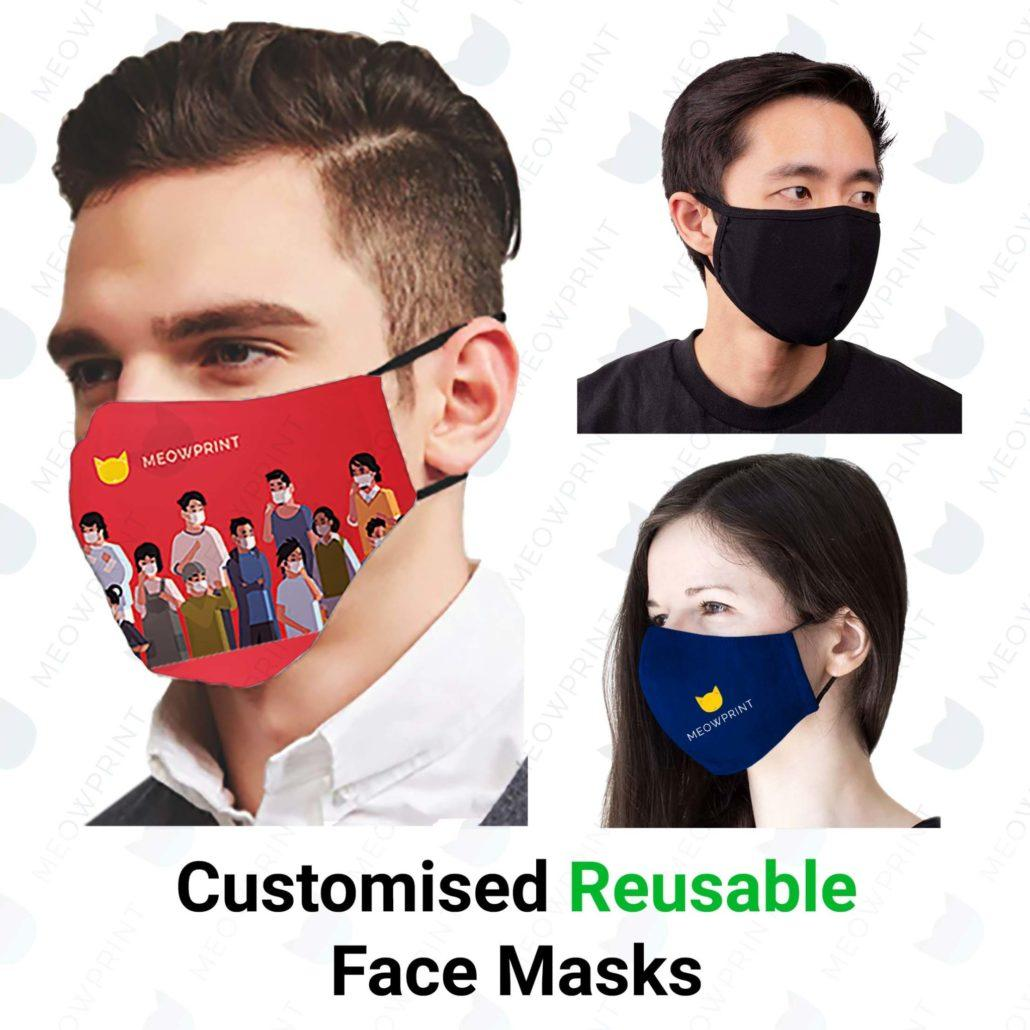 Customised Reusable Face mask Products catalogue