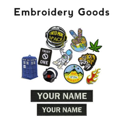 Embroidery Goods Products catalogue