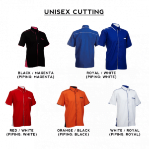 F116 Short Sleeves Uniform 2018-19 unisex catalogue