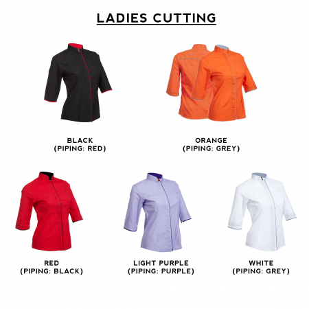 F118 Short Sleeves Uniform 2018-19 ladies catalogue
