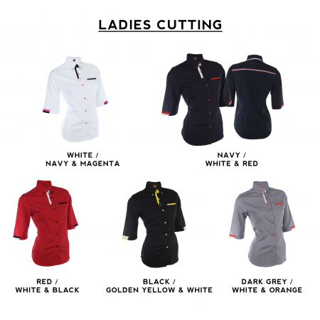 F126 Short Sleeves Uniform 2018-19 ladies catalogue