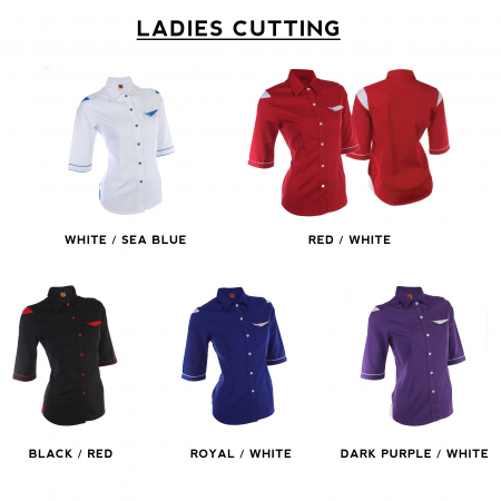 F128 Short Sleeves Uniform 2018-19 ladies catalogue
