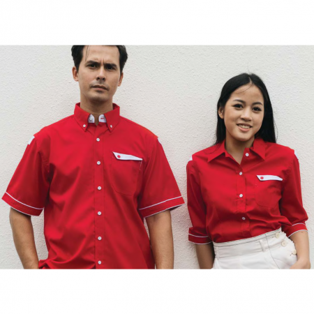 F128 Short Sleeves Uniform 2018-19 models 1