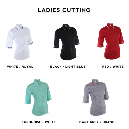 F130 Short Sleeves Uniform 2018-19 ladies catalogue