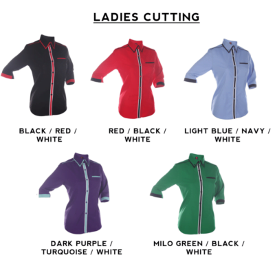 F132 Short Sleeves Uniform 2018-19 ladies catalogue