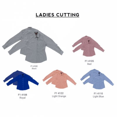 F140 Short Sleeves Uniform 2018-19 ladies catalogue