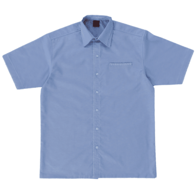 F140 Short Sleeves Uniform 2018-19 unisex light blue
