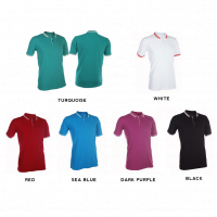 HC12 Multi-Tone Cotton Polo T-Shirts 2018-19 catalogue