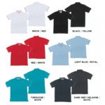 HC19 Multi-Tone Cotton Polo T-Shirts 2018-19 catalogue