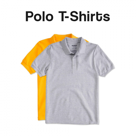 Polo T-Shirts Catalogue Banner
