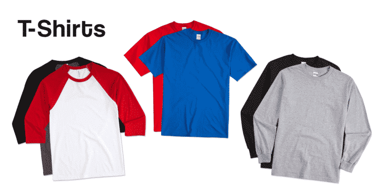 T Shirts Catalogue Banner