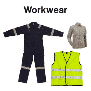 Work Wear Safety Wear Printing Products Catalogue