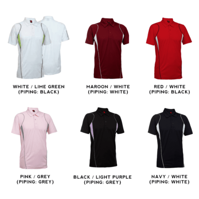 QD25 Multi Tone Dri Fit Polo T Shirts 2018 19 catalogue 400x400 - QD25 Multi-Tone Dri-Fit Polo T-Shirts