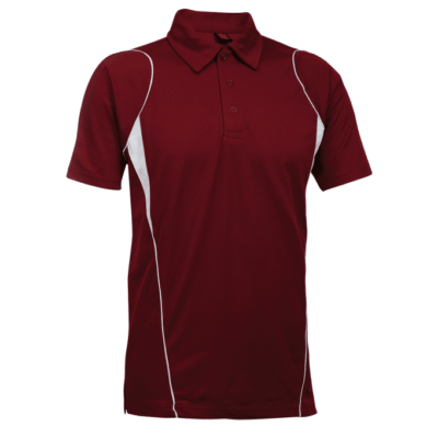 QD25 Multi Tone Dri Fit Polo T Shirts 2018 19 thumbnail maroon 400x400 - QD25 Multi-Tone Dri-Fit Polo T-Shirts
