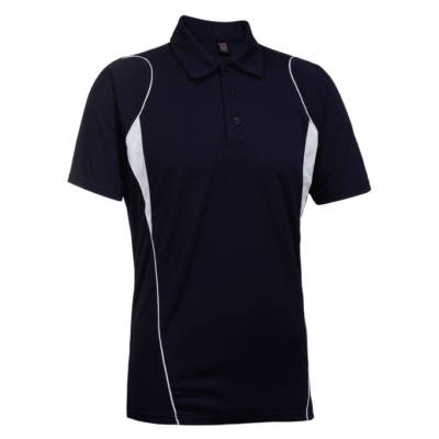 QD25 Multi Tone Dri Fit Polo T Shirts 2018 19 thumbnail navy 400x400 - QD25 Multi-Tone Dri-Fit Polo T-Shirts
