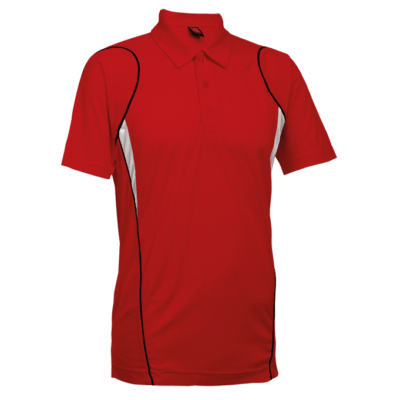 QD25 Multi Tone Dri Fit Polo T Shirts 2018 19 thumbnail red 400x400 - QD25 Multi-Tone Dri-Fit Polo T-Shirts
