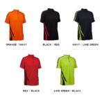 QD27 Multi-Tone Dri-Fit Polo T-Shirts 2018-19 Catalogue