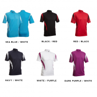 QD30 2-Tone Mandarin Collar Polo T-Shirts 2018-19 catalogue