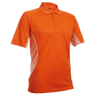 QD31 Multi Tone Dri Fit Polo T Shirts 2018 19 thumbnail orange 400x400 - QD31 Multi-Tone Dri-Fit Polo T-Shirts
